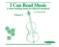 I Can Read Music, Volume 2 A Note Reading Book For Cello Students