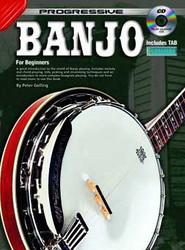 Progressive Banjo Peter Gelling - Book/Cd