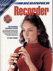 Progressive Beginner Recorder Gary Turner - Book/Dvd/Cd