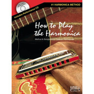 How To Play The Harmonica Method & Songbook For Diatonic Harmonicas Bkcd