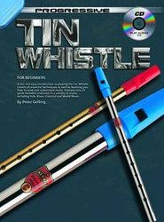 Progressive Tin Whistle Peter Gelling - Book/Cd