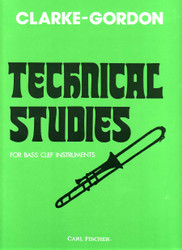Technical Studies, Bass Clef Instruments