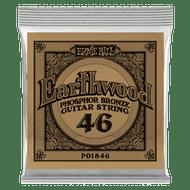 Single Ernie Ball Earthwood Phosphor Bronze Acoustic Guitar .046 (B1846)