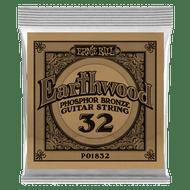 Single Ernie Ball Earthwood Phosphor Bronze Acoustic Guitar .032 (B1832)