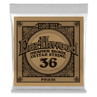 Single Ernie Ball Earthwood Phosphor Bronze Acoustic Guitar .036 (B1836)