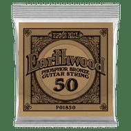 Single Ernie Ball Earthwood Phosphor Bronze Acoustic Guitar .050 (B1850)