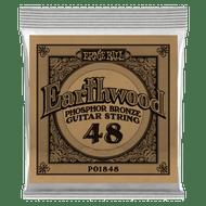 Single Ernie Ball Earthwood Phosphor Bronze Acoustic Guitar .048 (B1848)