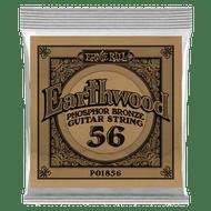 Single Ernie Ball Earthwood Phosphor Bronze Acoustic Guitar .056 (B1856)