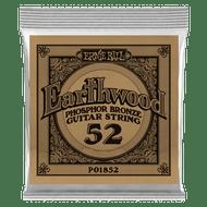 Single Ernie Ball Earthwood Phosphor Bronze Acoustic Guitar .052 (B1852)