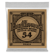 Single Ernie Ball Earthwood Phosphor Bronze Acoustic Guitar .054 (B1854)
