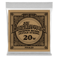 Single Ernie Ball Earthwood Phosphor Bronze Acoustic Guitar .020 (B1820)