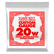 Single Ernie Ball Nickel Wound Electric Guitar .020 (B1120) Packaging Front