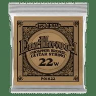 Single Ernie Ball Earthwood Phosphor Bronze Acoustic Guitar .022 (B1822)