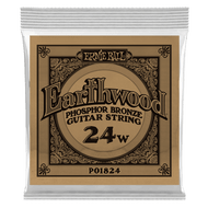Single Ernie Ball Earthwood Phosphor Bronze Acoustic Guitar .024 (B1824)