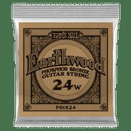 Single Ernie Ball Earthwood Phosphor Bronze Acoustic Guitar .024 (B1824) Packaging Front