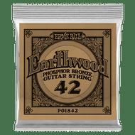 Single Ernie Ball Earthwood Phosphor Bronze Acoustic Guitar .042 (B1842)