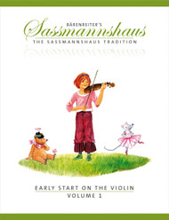 Early Start On The Violin, Vol.1, A Violin Method For Children Age Four And Older, Violin