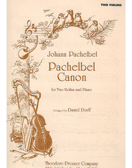 Pachelbel Canon, For Two Violins And Piano, Violin I, Violin Ii, Piano
