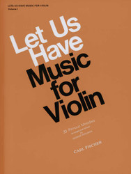 Let Us Have Music For Violin, Violin Solo, Piano