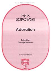 Adoration, Violin Solo, Piano
