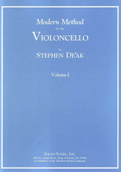 Modern Method For The Violoncello, Volume I, Cello