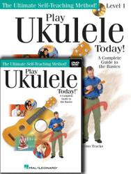 Play Ukulele Today! Beginner's Pack, Level 1 Book/Cd/Dvd Pack, Level 1 Book/Cd + Dvd