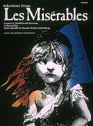Les Miserables, Instrumental Solos For Violin
