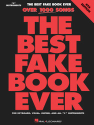 The Best Fake Book Ever - 4Th Edition, C Edition