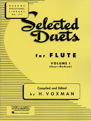 Selected Duets For Flute, Volume 1 - Easy To Medium