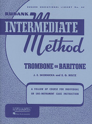 Rubank Intermediate Method - Trombone Or Baritone, Trombone/Baritone