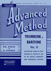 Rubank Advanced Method - Trombone Or Baritone, Vol. 2