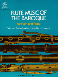 Flute Music Of The Baroque Era, For Flute & Piano