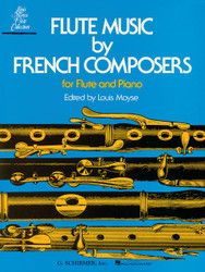 Flute Music By French Composers, For Flute & Piano, Book Only