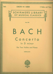 Concerto In D Minor, Score And Parts