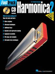 Fasttrack Harmonica Method Book 2, Book/Cd Pack
