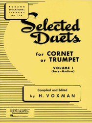Selected Duets For Cornet Or Trumpet, Volume 1 - Easy To Medium