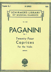 24 Caprices, Op. 1, Violin Solo