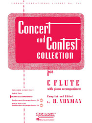 Concert And Contest Collection - C Flute, C Flute - Piano Accompaniment, Piano Part