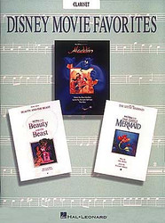 Disney Movie Favorites, Clarinet Solos, Clarinet