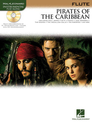 Pirates Of The Caribbean, For Flute, Book/Cd Pack