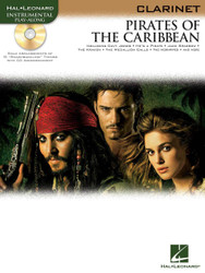 Pirates Of The Caribbean, For Clarinet, Book/Cd Pack