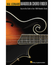 Mandolin Chord Finder, Easy-To-Use Guide To Over 1,000 Mandolin Chords, 6 Inch. X 9 Inch. Edition