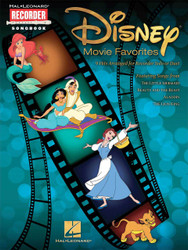 Disney Movie Favorites, 9 Hits Arranged For Recorder Solo Or Duet