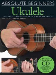 Absolute Beginners - Ukulele, Book/Cd Pack