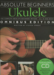 Absolute Beginners - Ukulele, Books 1 & 2 With Cd