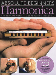 Absolute Beginners - Harmonica, Book/Cd Pack