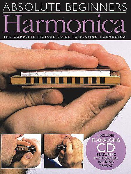 Absolute Beginners - Harmonica, Book/Cd Pack