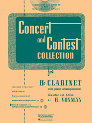 Concert And Contest Collection For Bb Clarinet
