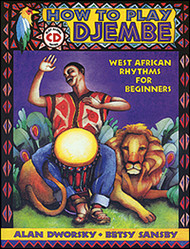 How To Play Djembe Book/Cd Set