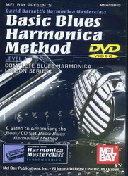 Basic Blues Harmonica Method Dvd